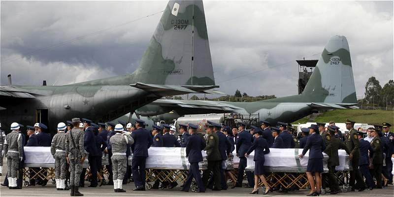 Inició repatriación de brasileños que fallecieron en accidente aéreo