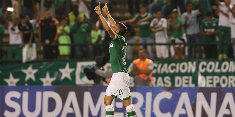 Benedetti le dio el triunfo al Cali en debut por Copa Sudamericana