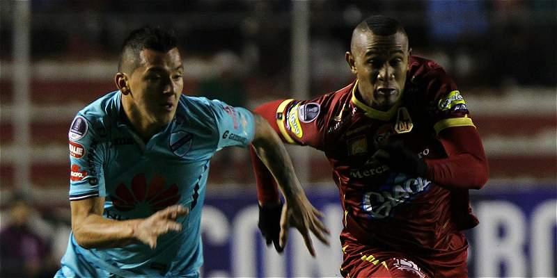 Bolívar Tolima Copa Sudamericana