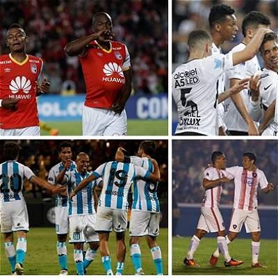 Hasta el momento, estos son los equipos en octavos de Suramericana