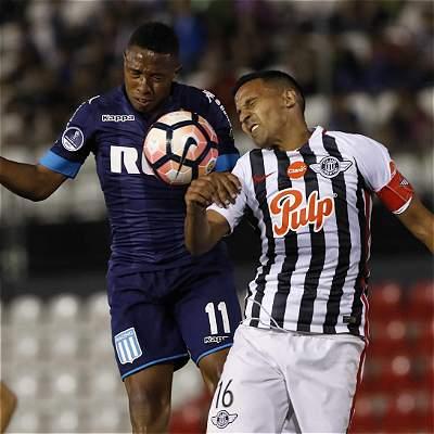 Libertad venció 1-0 a Racing por los cuartos de final de Suramericana