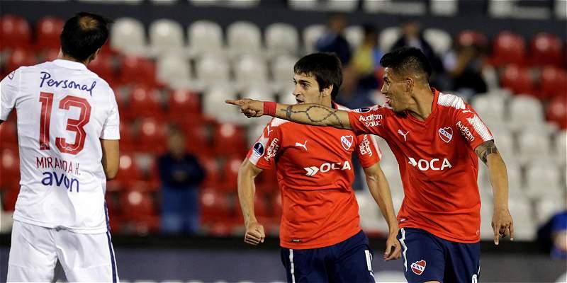 Independiente venció a Nacional en Copa Sudamericana