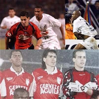 Así han salido las semifinales entre equipos colombianos y brasileños