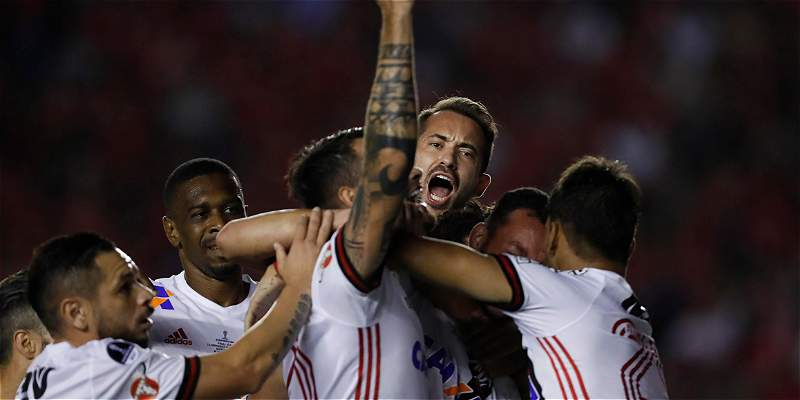 Antes de la final con Independiente, Flamengo tuvo control antidoping