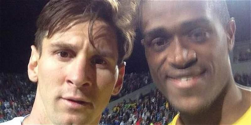 La historia detrás de la foto que jugador jamaiquino le pidió a Messi