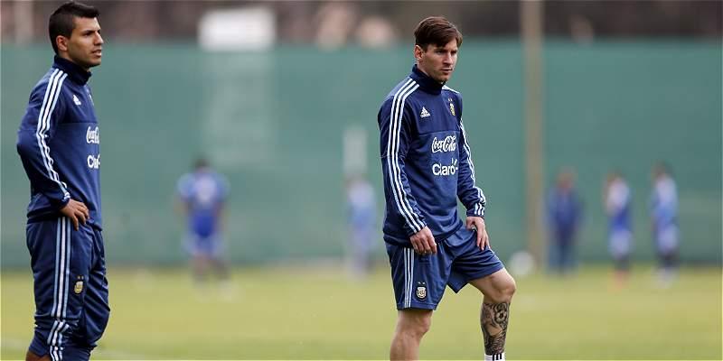 Argentina se entrenó de forma distendida, pensando en Colombia