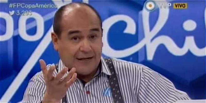 Periodista argentino se disculpa con jugadores colombianos por insulto