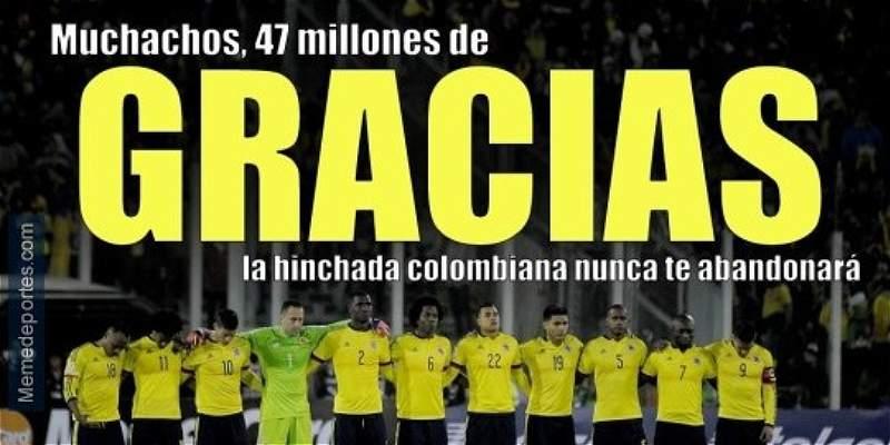 En \'memes\', lo que dejó el partido entre Argentina y Colombia