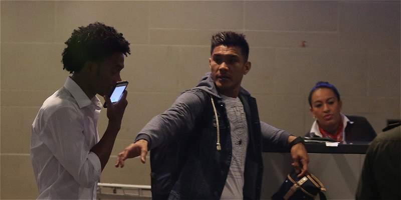 En fotos: así fue la llegada de la Selección Colombia al país