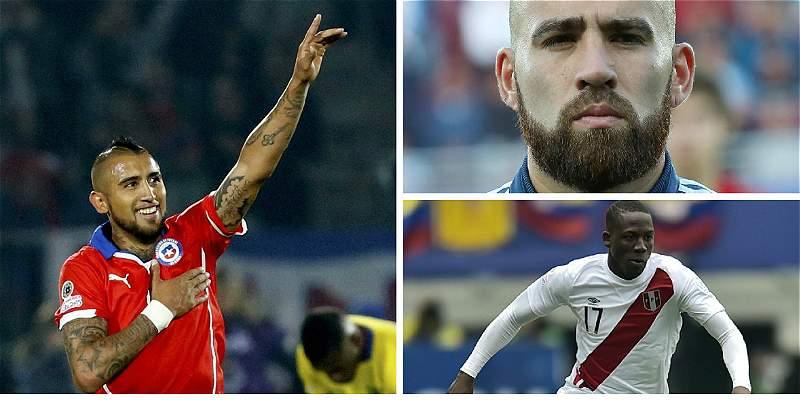 Los jugadores que están en la vitrina europea, jugada la Copa América