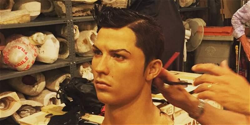 Cristiano Ronaldo ya espera su tercer figura de cera