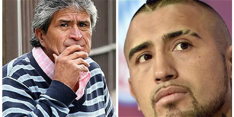 Vidal, entre su nuevo club y el lío de su padre por tenencia de droga