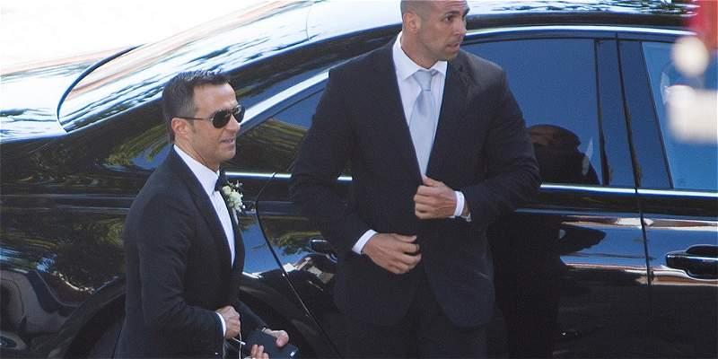 Rodeado de estrellas del fútbol se casó Jorge Mendes
