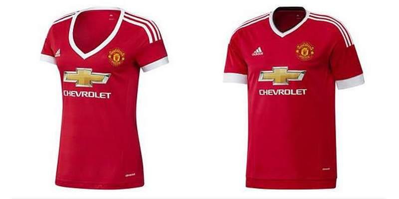 El United es acusado de \'sexista\' por su nueva camiseta para mujeres