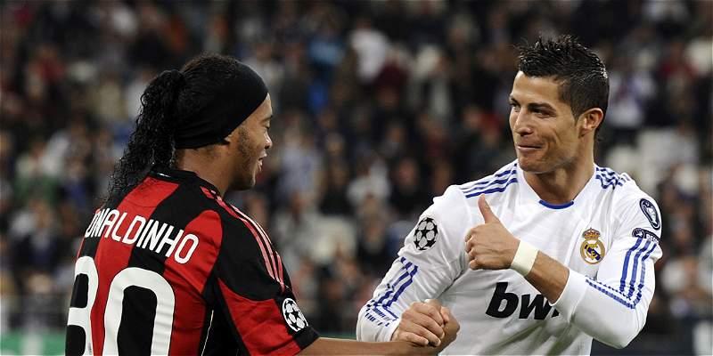 Ronaldinho y Cristiano