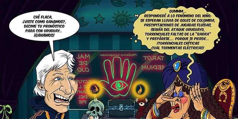 La caricatura de TRIANA: y el debut de Colombia en las Eliminatorias