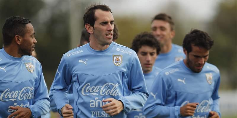 Futbolistas uruguayos posaron a favor de la adopción de mascotas