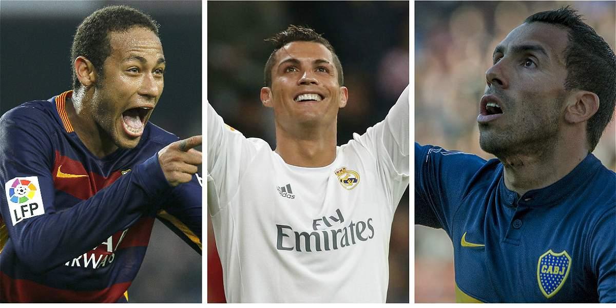 Neymar, Cristiano y Tévez de cumpleaños: aquí, los regalos de su magia