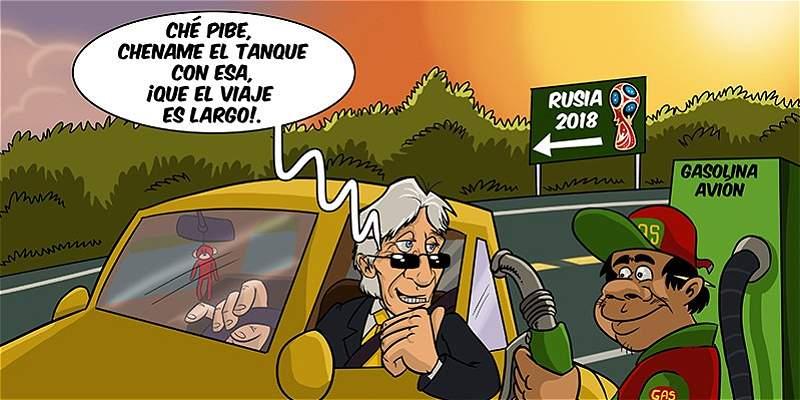 La caricatura de TRIANA y la vuelta de las Eliminatorias suramericanas