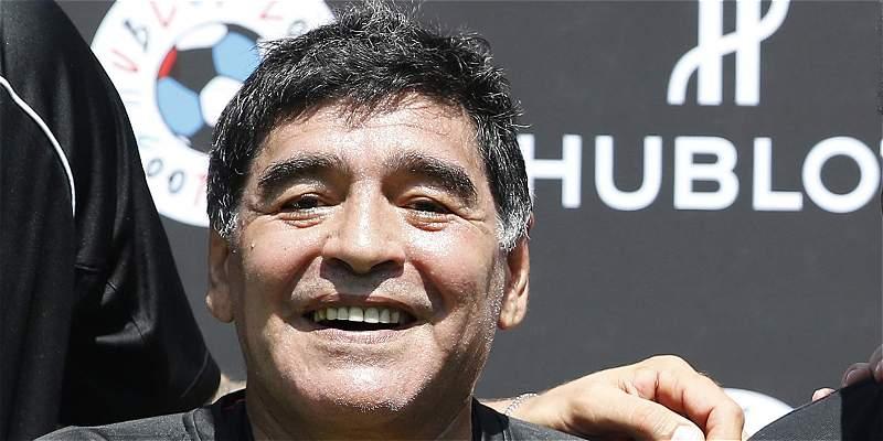 La vida del astro Diego Maradona será contada en una serie de TV