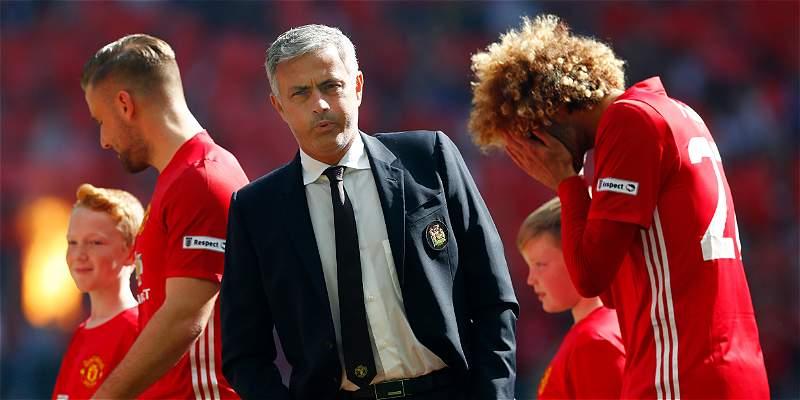 José Mourinho jugó a reconocer a sus futbolistas cuando eran niños