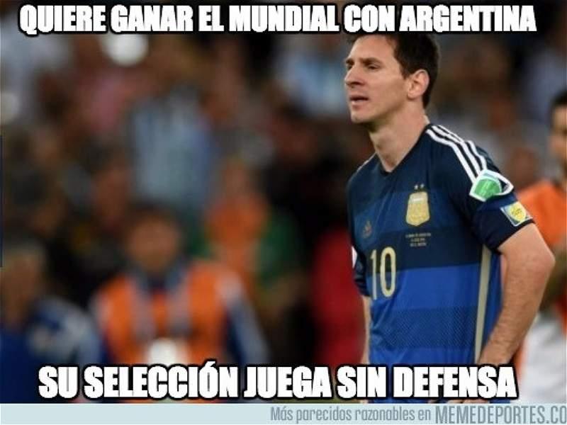 Memes Brasil vs. Argentina