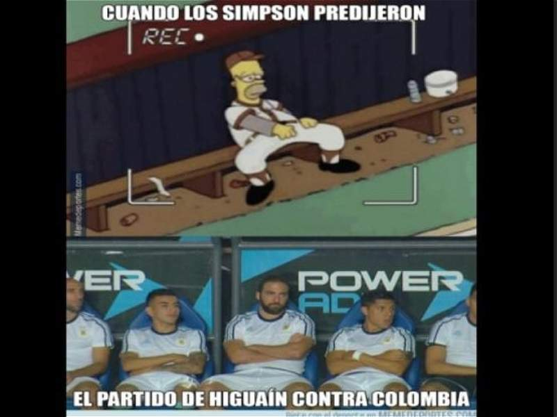 Memes Argentina vs. Colombia