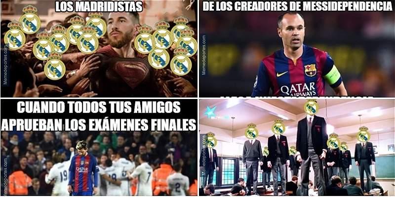 Al estilo de los \'memes\', el clásico entre Barcelona y Real Madrid