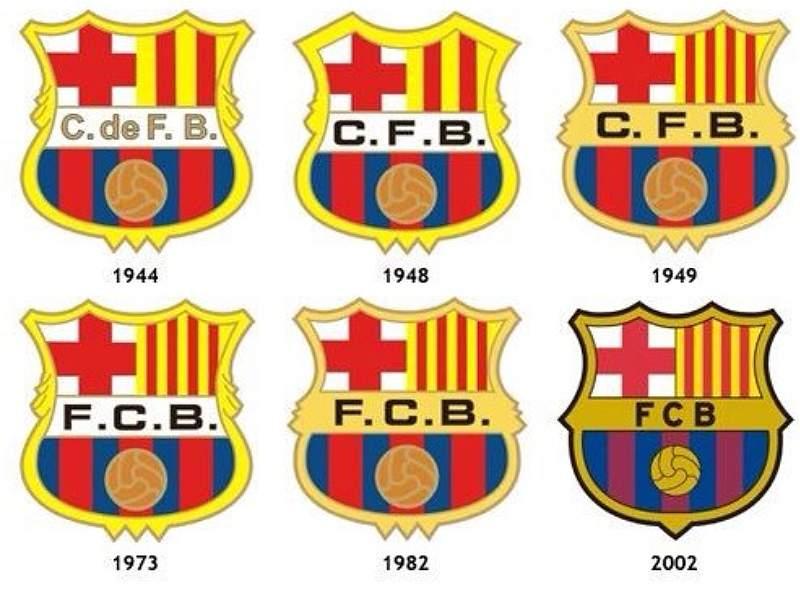 Cambios en los escudos de los clubes europeos  Curiosidades