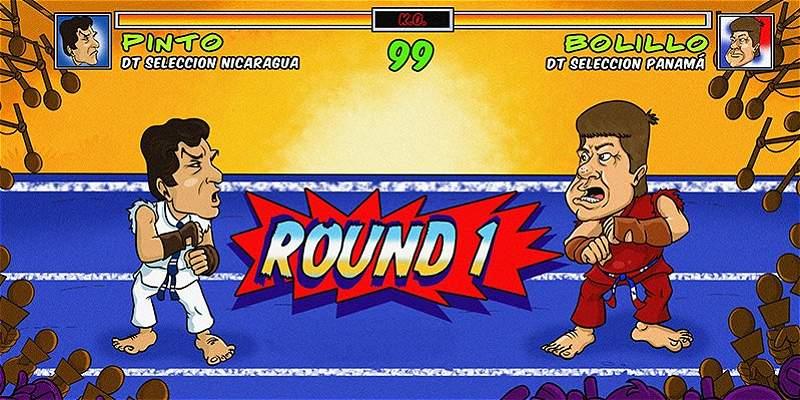 La caricatura de Triana: el duelo Pinto-\'Bolillo\' se salió de control