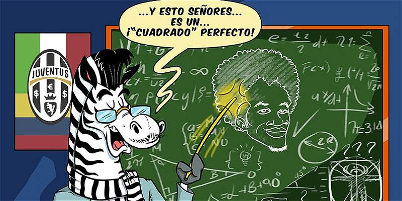 La caricatura de Triana y cómo es el \'Cuadrado\' perfecto en el fútbol