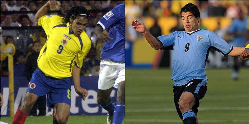 Falcao y Suárez celebran 10 años del debut en sus selecciones