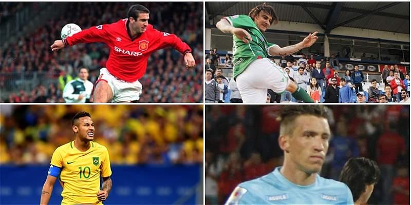 Malas reacciones de los jugadores de fútbol con los hinchas