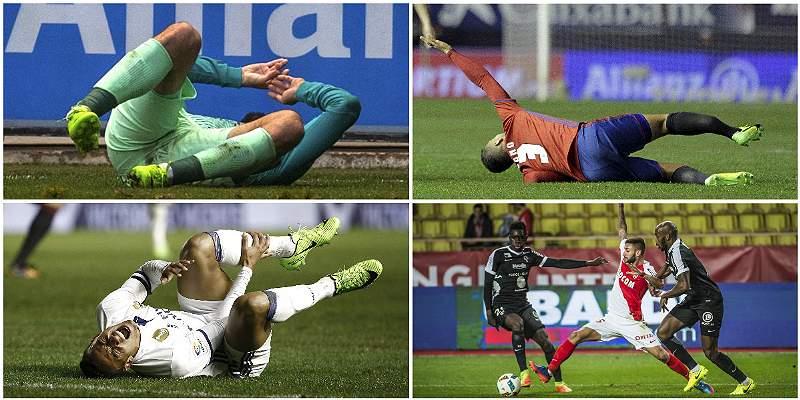 Jornada sabatina, marcada por espantosas lesiones en el fútbol europeo
