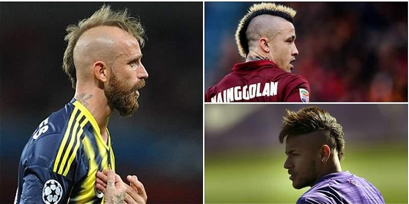 Jugadores peinados collage