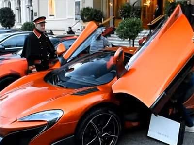 Futbolistas y sus carros de lujo/GALERÍA