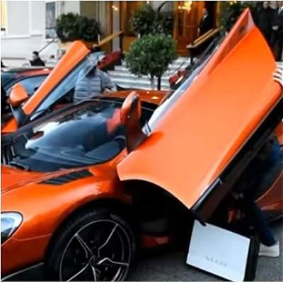 En imágenes: así son los autos de lujo de los futbolistas