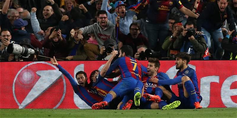 Barcelona PSG Champions remontada