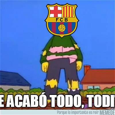 Al estilo de los 'memes', así fue el Barcelona contra Juventus en el Camp Nou