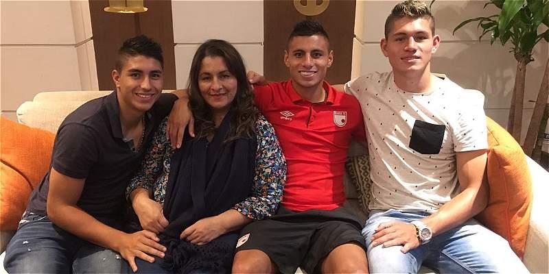 Pasión futbolera por triplicado: Luz Adiela, la madre de los Roa