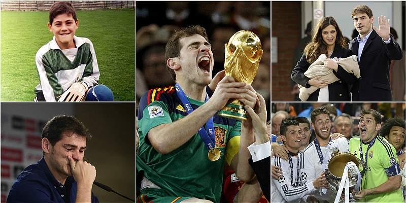 Cumpleaños 36 de Iker Casillas /COLLAGE