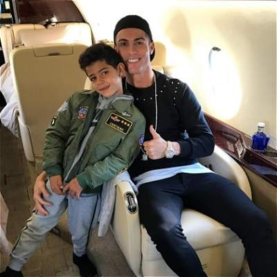 Gol hijo de Cristiano Ronaldo