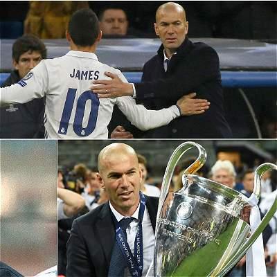 Cumpleaños de Zinedine Zidane / COLLAGE