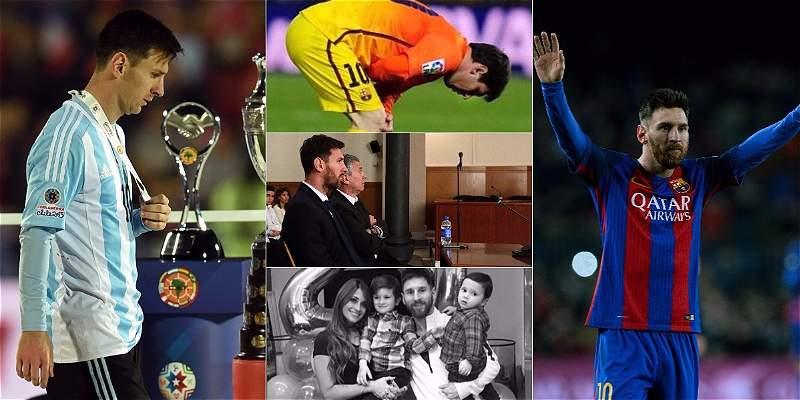 Cumpleaños 30 de Messi / COLLAGE