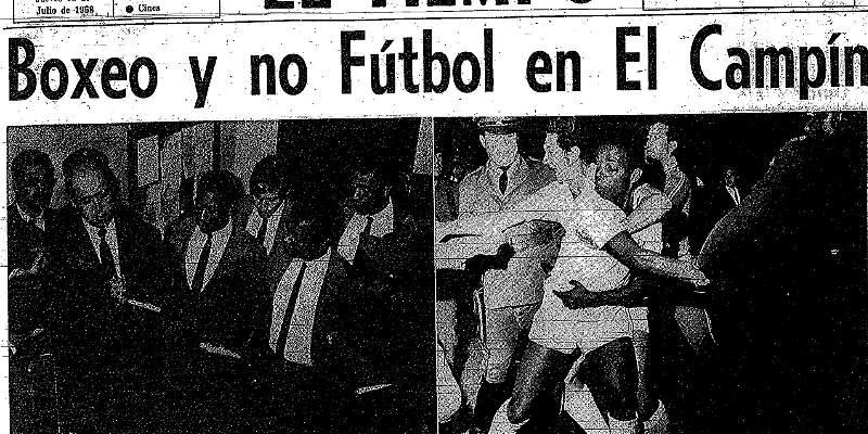 Chato Velásquez expulsó a Pelé