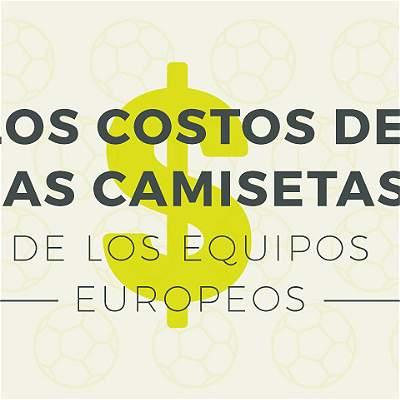 Camisetas de equipos de Europa