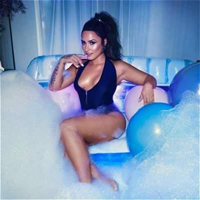 Las mejores fotos de Demi Lovato, cantante que coquetea con Neymar