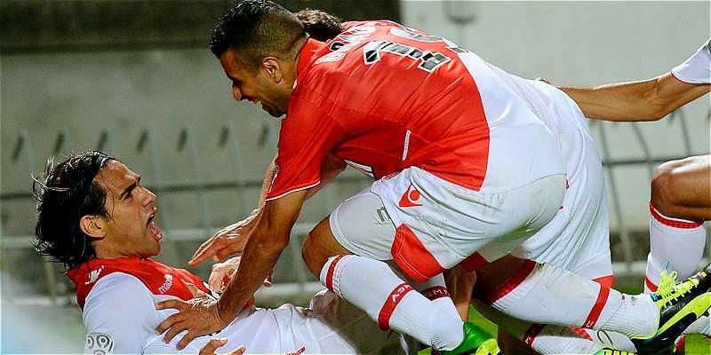 Mónaco recordó el primer gol de Falcao en ese equipo, hace cuatro años