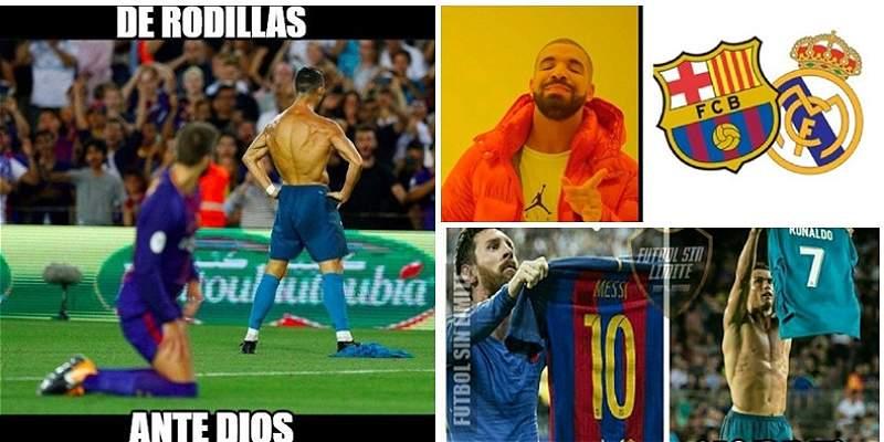 Al estilo de los \'memes\', el Barcelona-Madrid por Supercopa de España