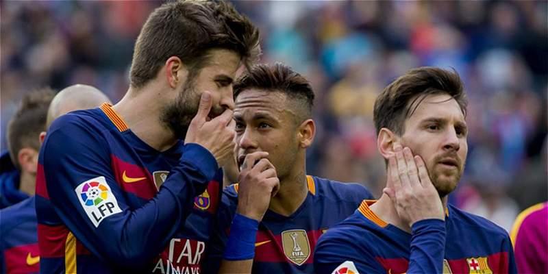 Messi Piqué Neymar